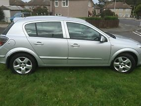2008 VAUXHALL ASTRA BREEZE SILVER