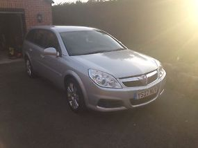 2007  VECTRA EXCLUSIV CDTI 150 SILVER FULL 13 MONTHS MOT FULL HISTORY