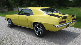 1969 CAMARO, LOW MILES, 454 CI, LOTS OF NEW PARTS, TIRES & WHEELS, image 2