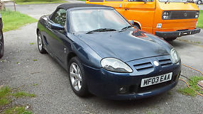 2003 MG TF BLUE great condition low mileage HEAD DONE
