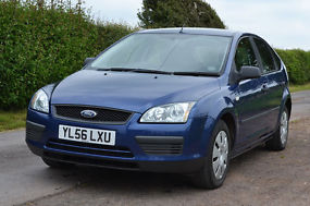 Ford Focus 2007 1.6 TDCi Blue [110] Very Good Condition