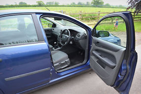 Ford Focus 2007 1.6 TDCi Blue [110] Very Good Condition image 4