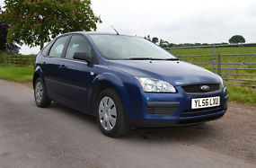 Ford Focus 2007 1.6 TDCi Blue [110] Very Good Condition image 6