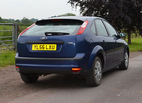 Ford Focus 2007 1.6 TDCi Blue [110] Very Good Condition image 8