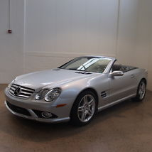 2008 Mercedes-Benz SL550 Base Convertible 2-Door 5.5L