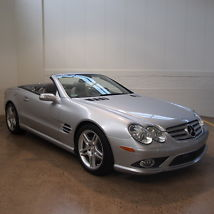 2008 Mercedes-Benz SL550 Base Convertible 2-Door 5.5L image 3
