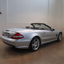 2008 Mercedes-Benz SL550 Base Convertible 2-Door 5.5L image 4