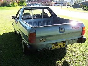 Subaru Brumby (4x4) (1987) Ute 4 SP Manual 4X4 (1.8L - Carb) image 2