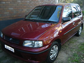 Mazda 121 Metro (1996) 5D Hatchback 3 SP Automatic (1.3L - Electronic F/INJ)