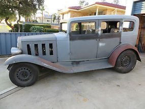 Rare 1932 chevrolet 4 door sedan steelrat rod hot rod for 1932 chevy 4 door sedan