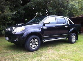 2007 TOYOTA HILUX INVINCIBLE 3.0D4D AUTO,SUPERB COND,1PREVIOUS OWNER,NO VAT, PX