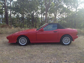 FOR SALE RED TVR 350i FIRST REGISTERED JANUARY 1989 image 1