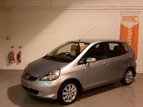 2007 HONDA JAZZ 1.4-DSI SE 5 dr HATCHBACK*69K FULL S/HISTORY*LADY OWNER*SKY BLUE