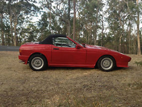 FOR SALE RED  350i FIRST REGISTERED JANUARY 1989