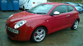 2009  MITO TURBO VELOCE RED DAMAGED REPAIRABLESALVAGE EASY REPAIR