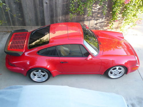1991  911 turbo 41k miles from new with all books and records.