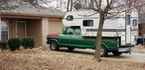1975  F350 with 460, 2 door extended cab Camper Special