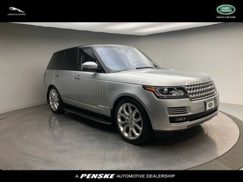 2016  Range Rover, Indus Silver with 49384 Miles available now!