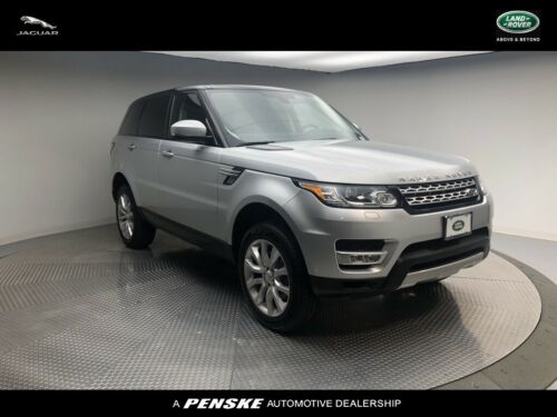 2016  Range Rover Sport, Indus Silver with 36004 Miles available now!