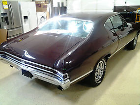 1968 Chevelle SS396, 4 Speed, Power Disc Brakes, 12 Bolt, Buckets Seats, Clean ! image 1