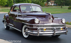 CHRYSLER NEW YORKER 1948 CLUB COUPE RARE &UNRESTORED SUPERB ORIGINAL CONDITION image 1