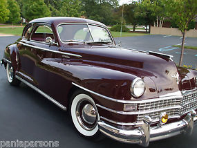 CHRYSLER NEW YORKER 1948 CLUB COUPE RARE &UNRESTORED SUPERB ORIGINAL CONDITION image 2