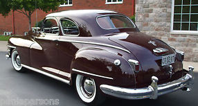 CHRYSLER NEW YORKER 1948 CLUB COUPE RARE &UNRESTORED SUPERB ORIGINAL CONDITION image 3