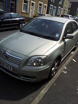 2005 TOYOTA AVENSIS T4 D-4D SILVER