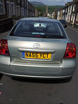 2005 TOYOTA AVENSIS T4 D-4D SILVER image 1