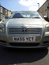 2005 TOYOTA AVENSIS T4 D-4D SILVER image 3