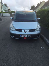renault espace 2.2 dci 7 seater 04 reg low miles