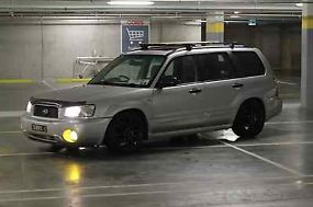 Subaru Forester XS Luxury (2003) 4D Wagon 5 SP Manual (2.5L - Multi Point...
