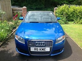 Audi A4 cabriolet 2.0t fsi S Line multitronic RS Sprint Blue full ASH image 4