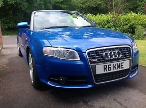 Audi A4 cabriolet 2.0t fsi S Line multitronic RS Sprint Blue full ASH image 5