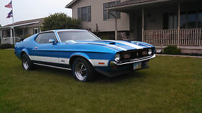 1971 Ford Mustang Mach 1 Low Original Miles Matching Numbers VERY Clean 351-C image 1