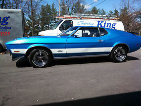 1971 Ford Mustang Mach 1 Low Original Miles Matching Numbers VERY Clean 351-C image 6