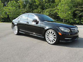 2011 mercedes benz c300 4 matic w pirelli p1 tires 19