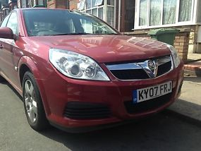 2007 VAUXHALL VECTRA CDTI 120 RED VERY LOW MILES 45K FROM NEW QUICK SALE