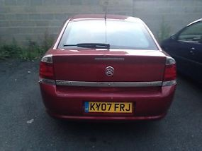 2007 VAUXHALL VECTRA CDTI 120 RED VERY LOW MILES 45K FROM NEW QUICK SALE  image 2