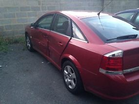 2007 VAUXHALL VECTRA CDTI 120 RED VERY LOW MILES 45K FROM NEW QUICK SALE  image 3
