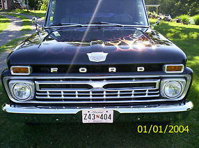 1965 Ford F-100 pick up truck, 2wd, 390 V8, AT, restored hot rod/classic image 2