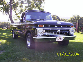 1965 Ford F-100 pick up truck, 2wd, 390 V8, AT, restored hot rod/classic image 6