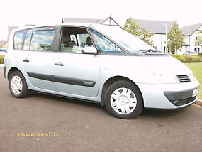 2003 renault espace authentique 1 9 dci grey. Black Bedroom Furniture Sets. Home Design Ideas