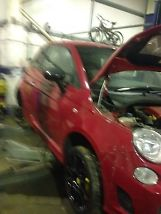 2010 FIAT  500 1.4 TURBO 595 SPEC DAMAGED SALVAGE REPAIRABLE