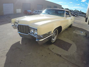 1969 CADILLAC CONVERTIBLE Reduced reduced reduced