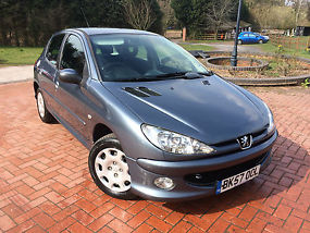 2007  206 LOOK 1.4HDI GREY 5 DOOR DIESEL