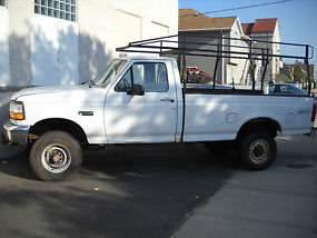 1994 Ford F-350 XLT Standard Cab Pickup 2-Door 5.8L