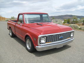 1972 Chevy C-10 short wide with factory AC