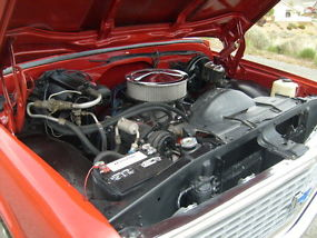 1972 Chevy C-10 short wide with factory AC image 8