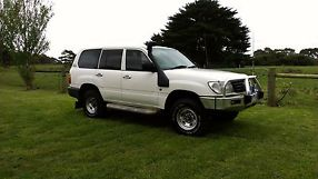 TOYOTA LANDCRUISER 1998 --100 SERIES TURBO DIESEL-- aftermarket turbo fitted image 1
